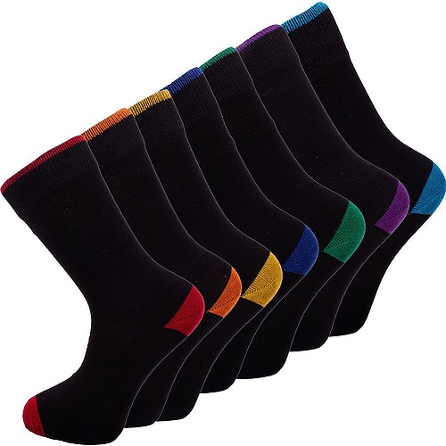 7 Days Socks Black