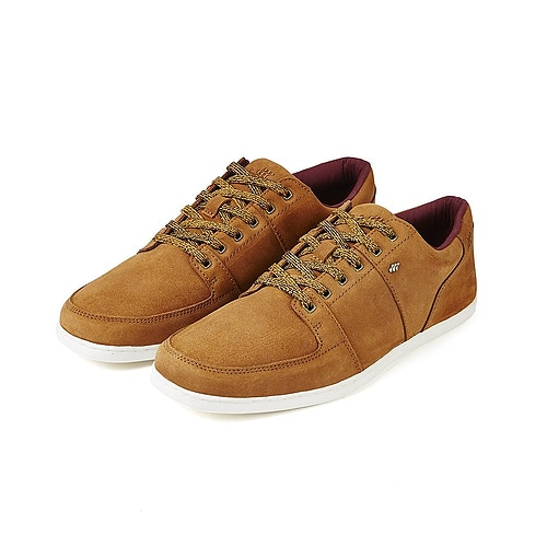 Boxfresh Leather Trainers Tan