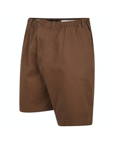 Espionage Stretch Rugby Shorts Braun