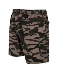 Espionage Camouflage Cargo Shorts Olivgrün