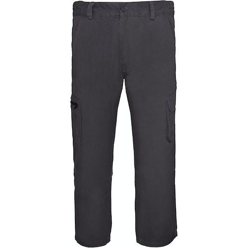 Bigdude Straight Fit Cargo Trousers Grey