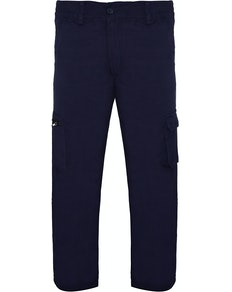 Bigdude Straight Fit Cargo Trousers Navy
