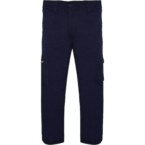 Bigdude Cargo Hose Marineblau Straight Fit