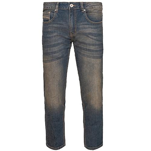 Bigdude Stretch Pocket Detail Jeans Antique Wash