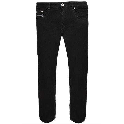 Bigdude Stretch Pocket Detail Jeans Black