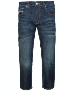 Bigdude Stretch Pocket Detail Jeans Dark Wash