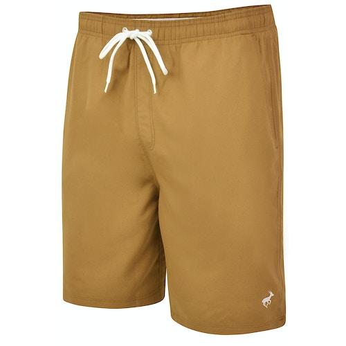 Bigdude Plain Swim Shorts Khaki