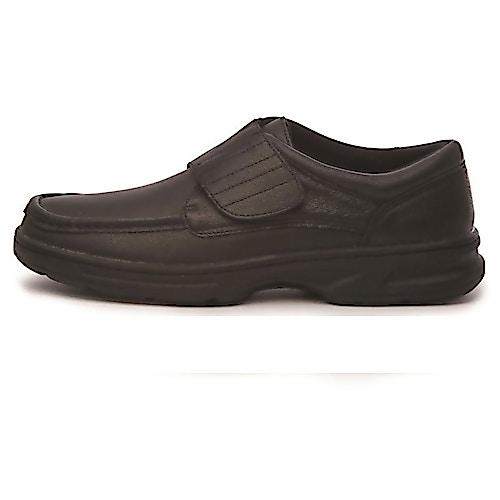 Dr Keller Texas Black Leather Shoe