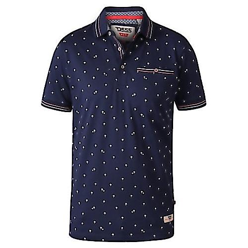 D555 Thames Poloshirt Marineblau