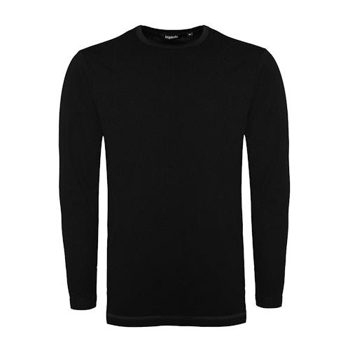 Bigdude Langarm Thermo T-Shirt Schwarz