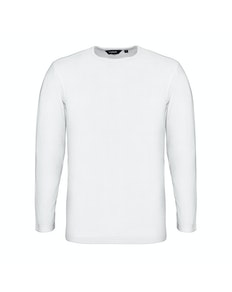 Bigdude Long Sleeve Thermal T-Shirt White