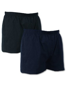 Espionage Jersey Boxer Shorts - Twin Pack