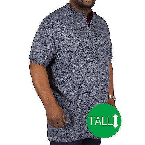 D555 Paul Woven T-Shirt Blue Tall