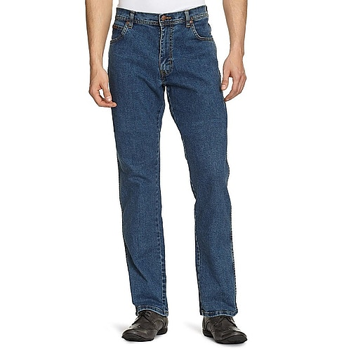 Wrangler Stretch Jeans Texas Stonewash Tall Fit
