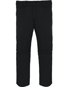 Bigdude Zip Off Walk Pants Black