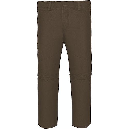 Bigdude Hose mit abnehmbaren Beinen Khaki